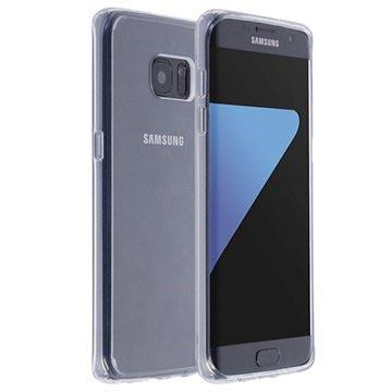 Krusell Kivik Samsung Galaxy S7 Edge Cover - Gennemsigtig