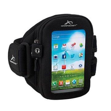LG Lucid 3 VS876 Armpocket i-30 Armbånd - L - Sort Armpocket til  - MediaNyt