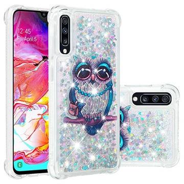 Liquid Glitter Samsung Galaxy A70 TPU Cover - Ugle