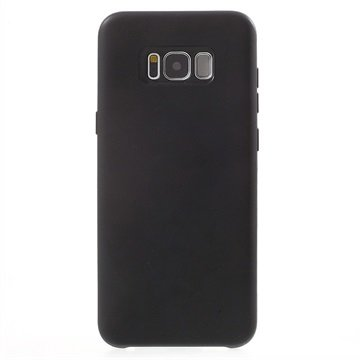 Mat TPU Samsung Galaxy S8+ Cover - Sort