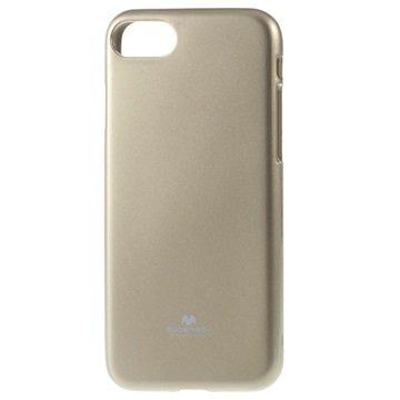 Mercury Goospery iPhone 7 TPU Cover - Guld