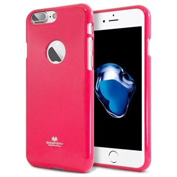 Mercury Goospery iPhone 7 Plus TPU Cover - Hot Pink