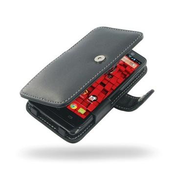 Motorola Droid Mini PDair Læder Taske 3BMOMTB41 - Sort PDair til  - MediaNyt.dk
