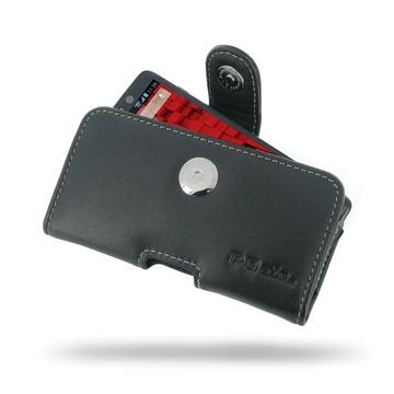 Motorola Droid Mini PDair Horisontal Læder Taske - Sort PDair til  - MediaNyt.dk