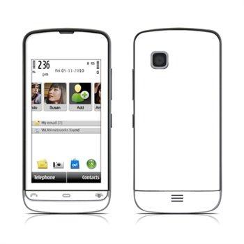 Nokia C5 Solid State White Skin DecalGirl til  - MediaNyt.dk