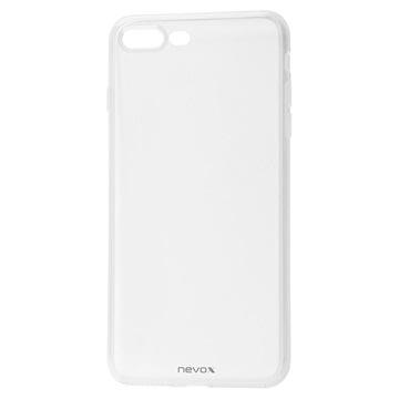 Nevox StyleShell Flex iPhone 7 Plus / iPhone 8 Plus TPU Cover - Gennem
