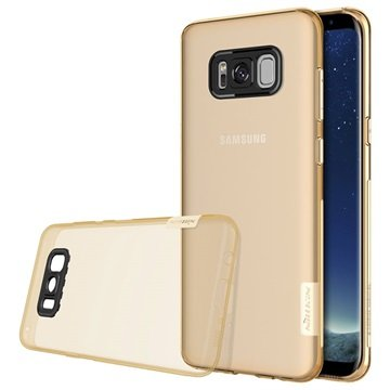 Nillkin Nature 0.6mm Samsung Galaxy S8 TPU Cover - Guld