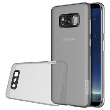 Nillkin Nature 0.6mm Samsung Galaxy S8 TPU Cover - Grå