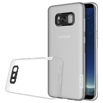 Nillkin Nature 0.6mm Samsung Galaxy S8 TPU Cover - Gennemsigtig