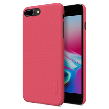 Nillkin Super Frosted iPhone 7 Plus / iPhone 8 Plus Cover - Rød
