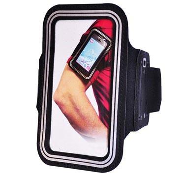 iPhone 4 / 4S Njord Sport Gym Armbånd - Sort