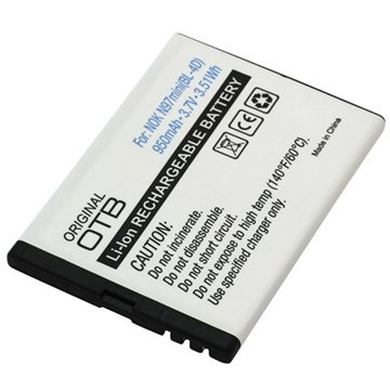 Nokia N97 mini Batteri - 950mAh MTP Products til  - MediaNyt.dk
