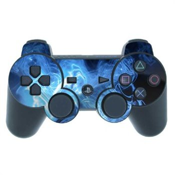 Sony PlayStation 3 Controller Skin - Blue Quantum Waves