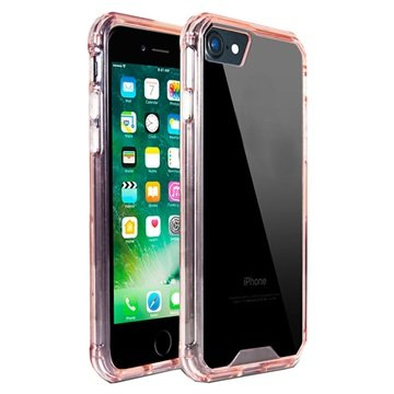 PT Line Acryl iPhone 7 Plus Cover - Pink