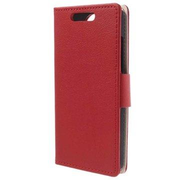 HTC Desire 501, 501 Dual Sim Pung Læder Taske - Rød MTP Products til  - MediaNyt
