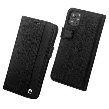 Pierre Cardin iPhone 11 Pro Læder Cover med Kortholder - Sort