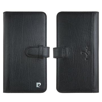 Pierre Cardin iPhone 11 Pro Max Læder Cover med Kortholder - Sort