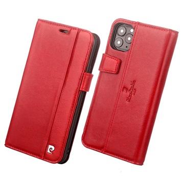Pierre Cardin iPhone 11 Pro Læder Cover med Kortholder - Rød