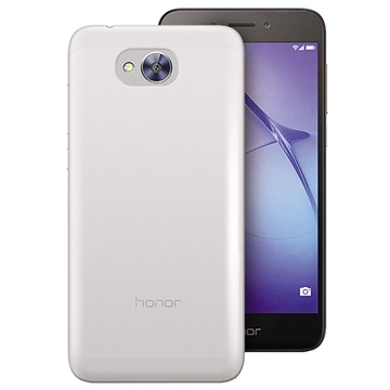 Puro 0.3 Nude Huawei Honor 6A TPU Cover - Gennemsigtig