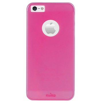 iPhone 5 / 5S / SE Puro Rainbow Hårdt Cover - Pink