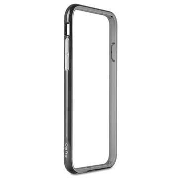 iPhone 6 Plus / 6S Plus Puro Silikone Bumper - Sort