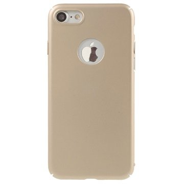 iPhone 7 Gummiagtig Cover - Guld
