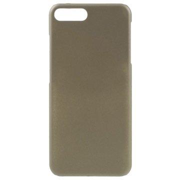 iPhone 7 Plus Gummiagtig Cover - Guld