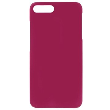 iPhone 7 Plus Gummiagtig Cover - Hot Pink
