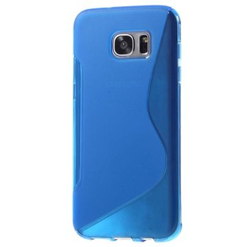 Samsung Galaxy S7 Edge S-Curve TPU Cover - Blå
