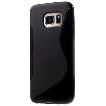 Samsung Galaxy S7 S-Curve TPU Cover - Sort