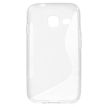 Samsung Galaxy J1 Nxt S-Curve TPU Cover - Gennemsigtig MTP Products til  - MediaNyt.dk