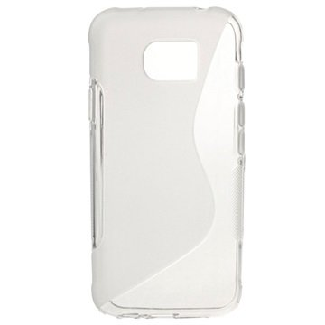 Samsung Galaxy S7 Active S-Curve TPU Cover - Gennemsigtig