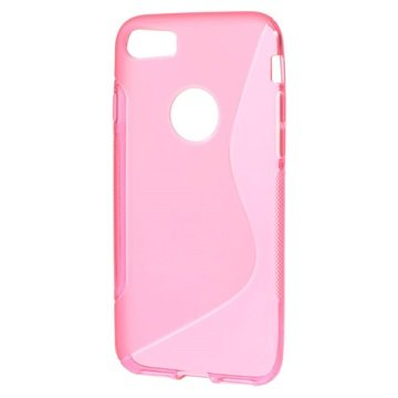 S-Curve iPhone 7 TPU Cover - Hot Pink