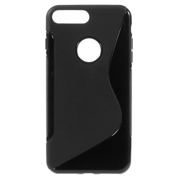 S-Curve iPhone 7 Plus TPU Cover - Sort