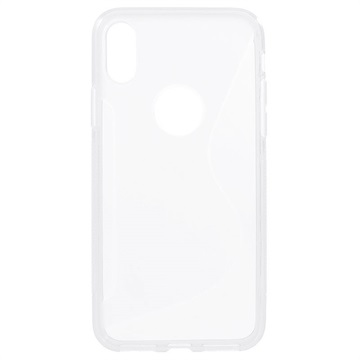 S-Line iPhone 8 TPU Cover - Gennemsigtig