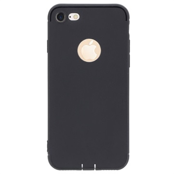 Saii 0.33mm Ultra-tyndt Plastik iPhone 7 / iPhone 8 Cover - Sort