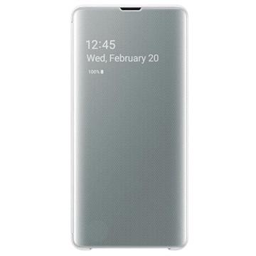 f70361cf7a8b Samsung Galaxy S10+ Clear View Cover EF-ZG975CWEGWW - Hvid