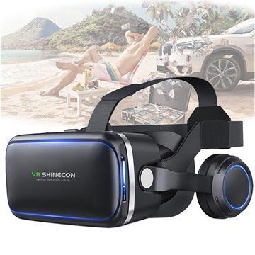 Shinecon 6 Generation G04E 3D VR Virtual Reality Briller med Høretele