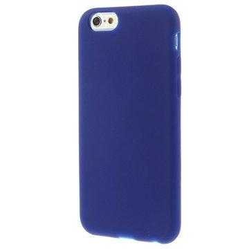 iPhone 6 / 6S Silikone Cover - Mørkeblå