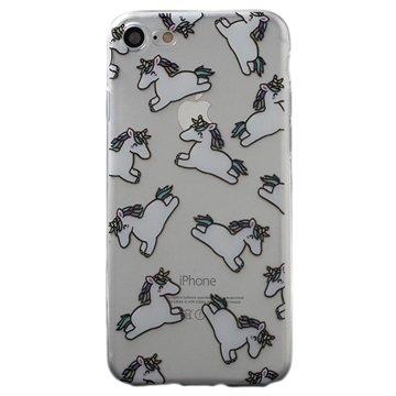 iPhone 7 TPU Cover - Unicorns