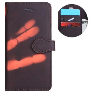 iPhone 7 Plus / iPhone 8 Plus Thermal Etui med Pung - Sort