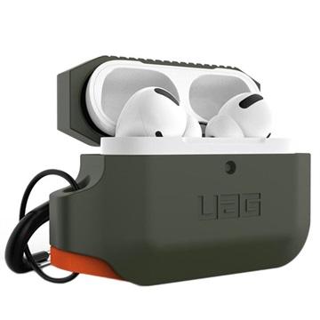 UAG Rugged AirPods Pro Silikone Cover - Olivenegrøn