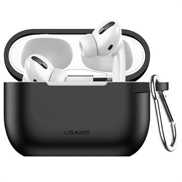 Usams BH568 AirPods Pro Silikone Cover - Sort