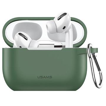 Usams BH568 AirPods Pro Silikone Cover - Grøn