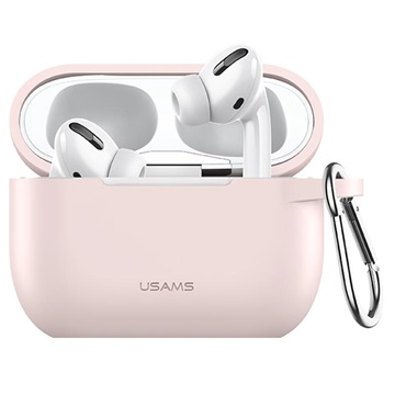 Usams BH568 AirPods Pro Silikone Cover - Pink