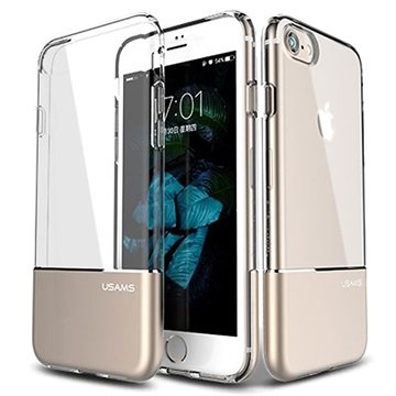 Usams Easy iPhone 7 TPU Cover - Guld