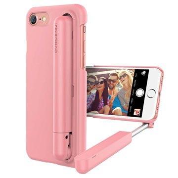 VRS Design Cue Stick iPhone 7 Selfie Cover - Pink
