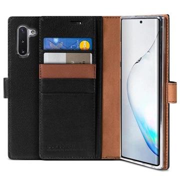 VRS Layered Dandy Deluxe Samsung Galaxy Note10 Læderpung - Sort