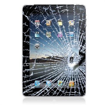 iPad 3 Display Glas & Touch Screen Reparation - Sort  til  - MediaNyt