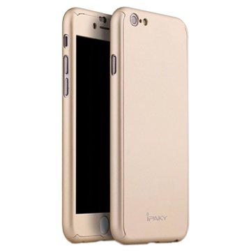 iPaky 360 Protection iPhone 6 Cover - Guld